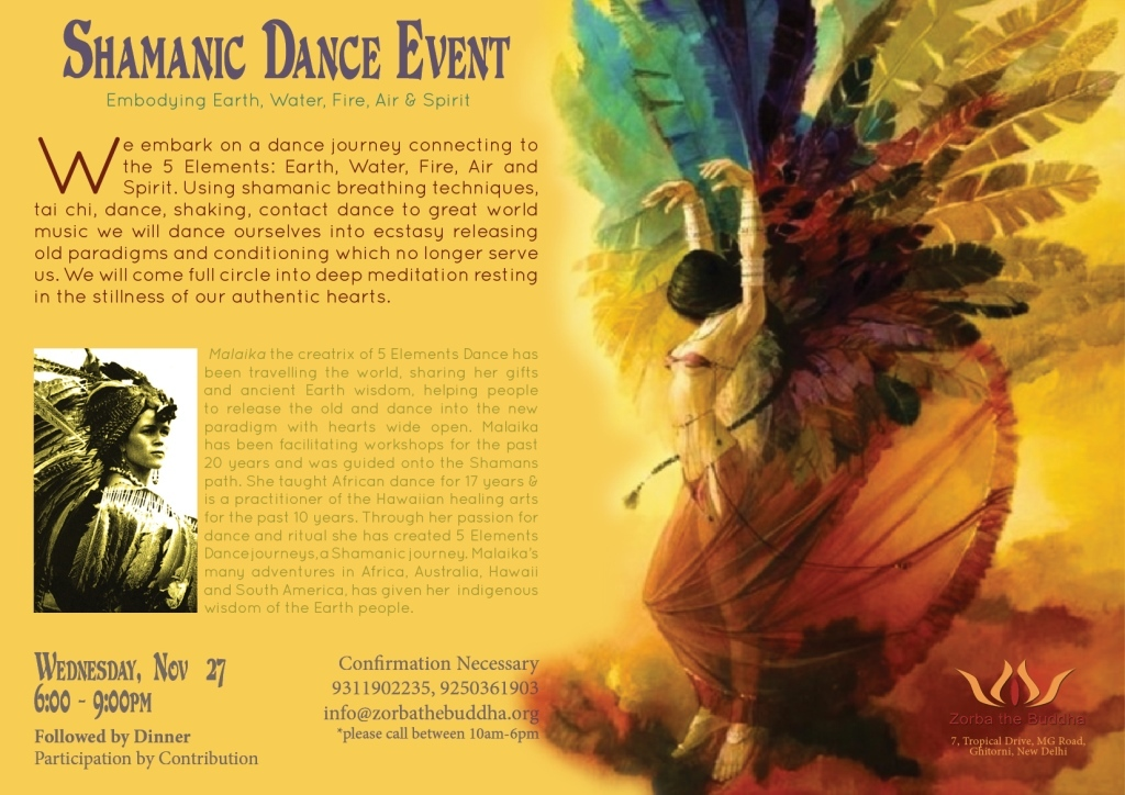 5 Elements Shamanic Dance Event small