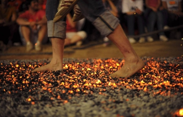 fire-walking